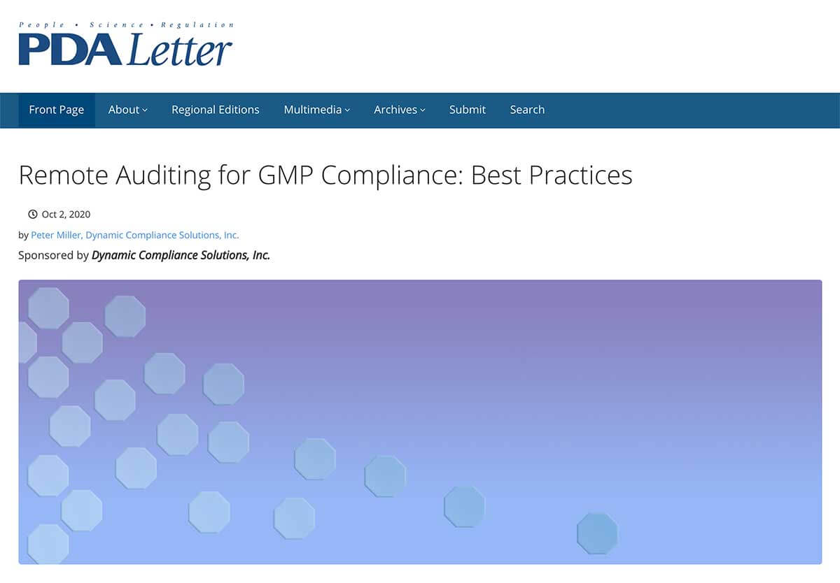 remote_auditing_for_GMP_compliance_best_practices