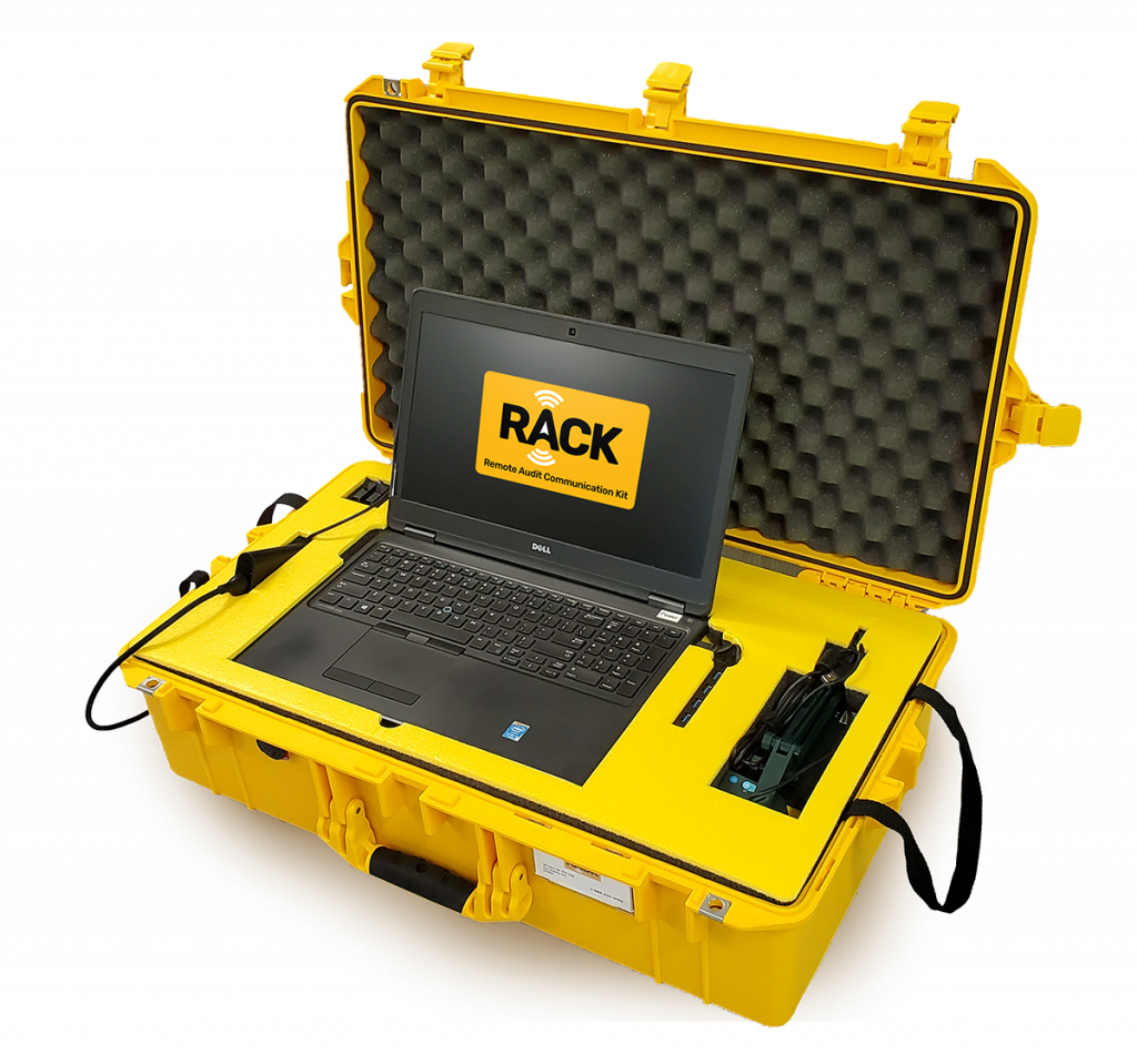 RACK - Remote Audit Communication Kit - Remote auditing for GMP Compliance