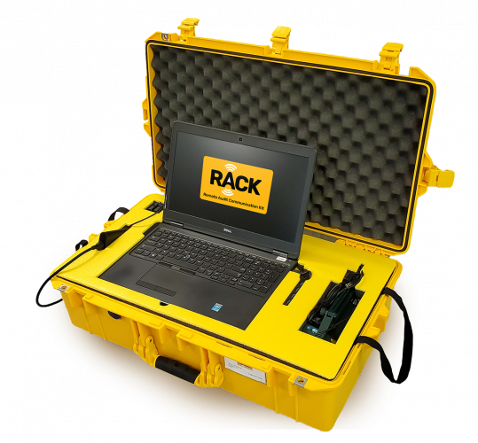 the RACK remote auditing